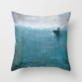 Drift Away -VACANCY #2 Throw Pillow