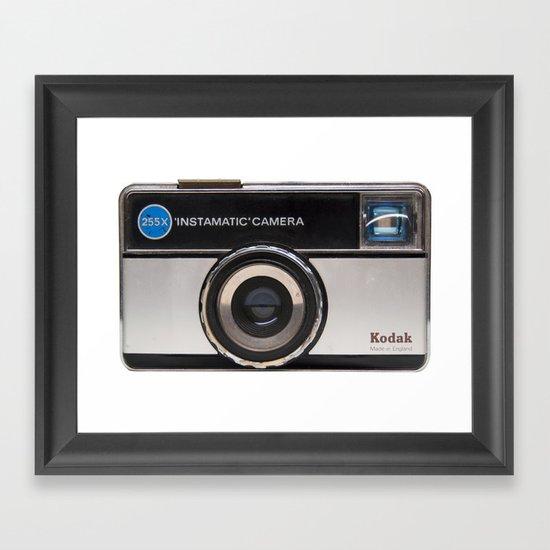 Instamatic Camera Framed Art Print