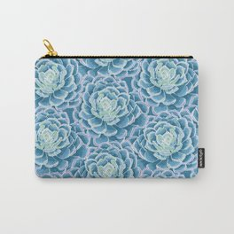 Pattern Succulent Carry-All Pouch