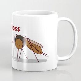 Final Boss - Red Letters Coffee Mug