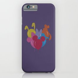 Disney Ballons Parade iPhone Case
