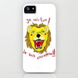 Brave Leo! iPhone Case