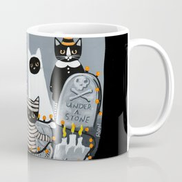 Decorating the Cemetery  Coffee Mug