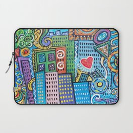 Pretty City two Laptop Sleeve