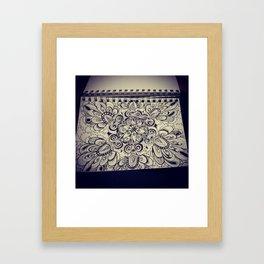 Brat Doll Art - Petalburst Framed Art Print