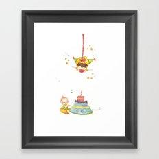 Baby birthday Framed Art Print