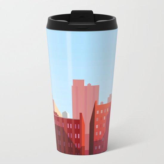 New York City ||II Metal Travel Mug