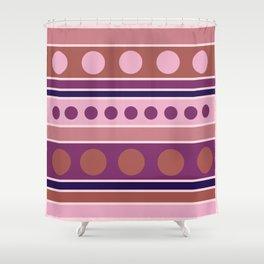 Cream Soda Sorbet Shower Curtain