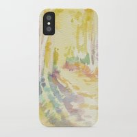 forrest iPhone & iPod Cases featuring Forrest by Susie McColgan