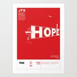 John F. Kennedy Assassination JFK Art Print