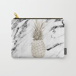 Marble Pineapple Carry-All Pouch