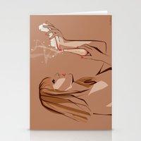 ursula Stationery Cards featuring Ursula by Elena Medero