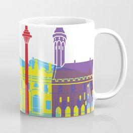 Tallinn skyline pop Coffee Mug