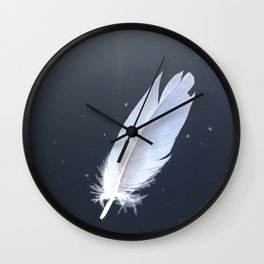 Naturals by Nikki - Feather Afloat Wall Clock