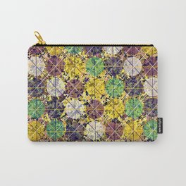 Pattern circles joined Carry-All Pouch