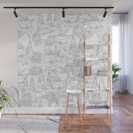 Jingle Jangle - Coloring Book Wall Mural