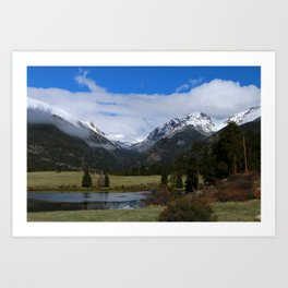 A Beautiful View Art Print