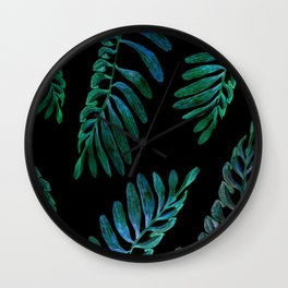 laves in the dark Wall Clock