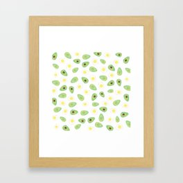 Avocados & Eggs Framed Art Print