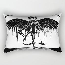 Bendy, the fallen angel Rectangular Pillow