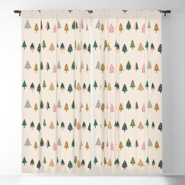 Christmas Trees (Highland) Blackout Curtain