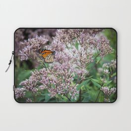 Monarch on Blossoms Laptop Sleeve