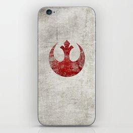 StarWars Rebel Alliance (Red) iPhone Skin