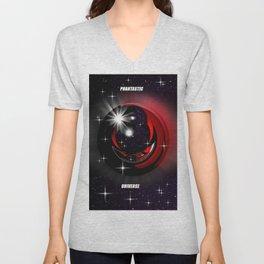 Phantastic universe. Unisex V-Neck
