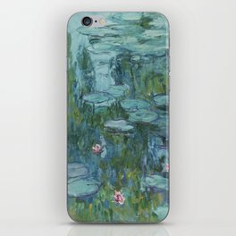Nymphéas, Claude Monet iPhone Skin