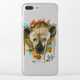 Spotted Hyena Clear iPhone Case