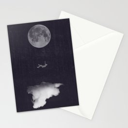 Reach For The Moon Stationery Cards