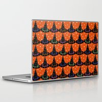 hats Laptop & iPad Skins featuring Hats & Stars by Art Tree Designs
