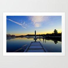 The River Awakens Art Print