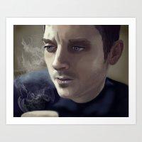 Elijah Wood Art Print