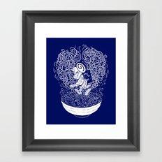 I Love Ramen Framed Art Print