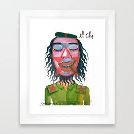Che Guevara by Diego Manuel Framed Art Print