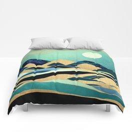 Emerald Evening Comforters