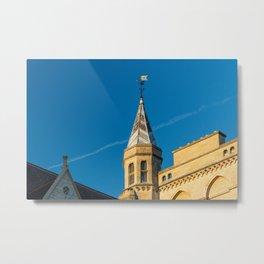 Weathervane atop a building at Oxford University England Metal Print