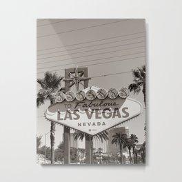 To Fabulous Las Vegas Metal Print