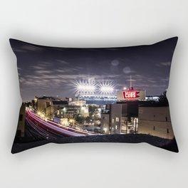 Wrigley Field Long Rectangular Pillow