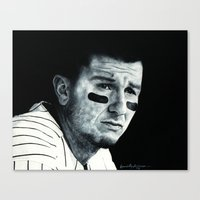 caleb troy Canvas Prints featuring Troy Tulowitzki  by emilypaints