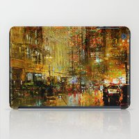 detroit iPad Cases featuring An evening in Detroit by Ganech joe