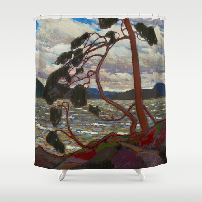 Tom Thomson - The West Wind Shower Curtain