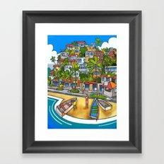 Búzios Framed Art Print