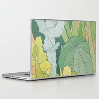 cacti Laptop & iPad Skins featuring Cacti by Julia Walters Illustration