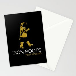 Iron Boots Stationery Cards