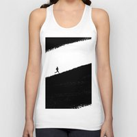 running Tank Tops featuring Running by eARTh
