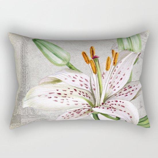 Macro Flower #3 Rectangular Pillow