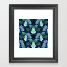 Oceans of Lotus Zen Framed Art Print