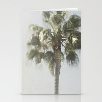 palm tree Stationery Cards featuring Palm Tree by Pure Nature Photos